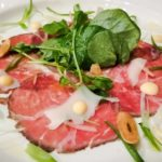 The Bison Restaurant and Terrace Bison Carpaccio